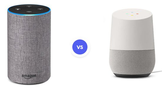 Amazon Echo Second Gen Google Home