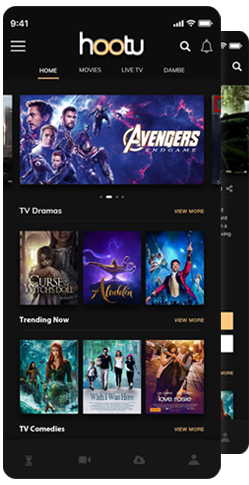 TV app like Netflix