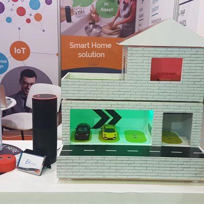 Smart Home With Amazon Alexa Integration