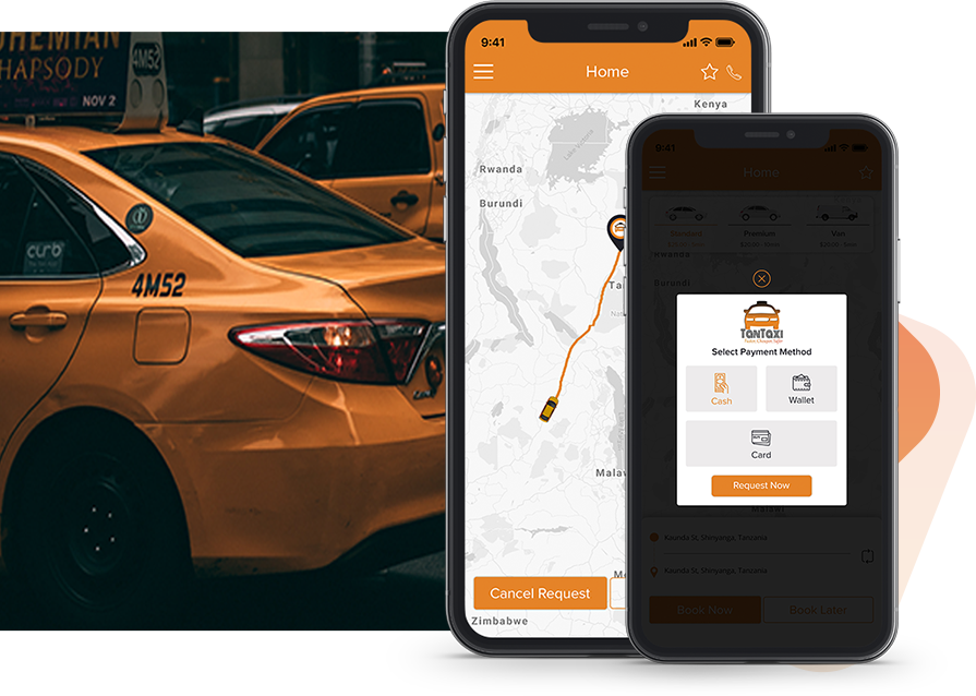 Developing Car Booking App Driver Passenger