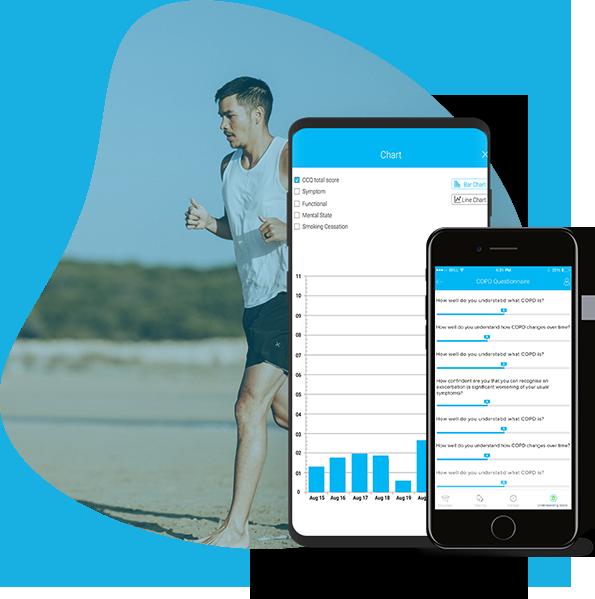 smart mobile app for chronic disease management