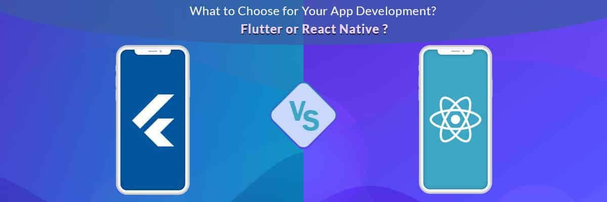 google flutter vs react native