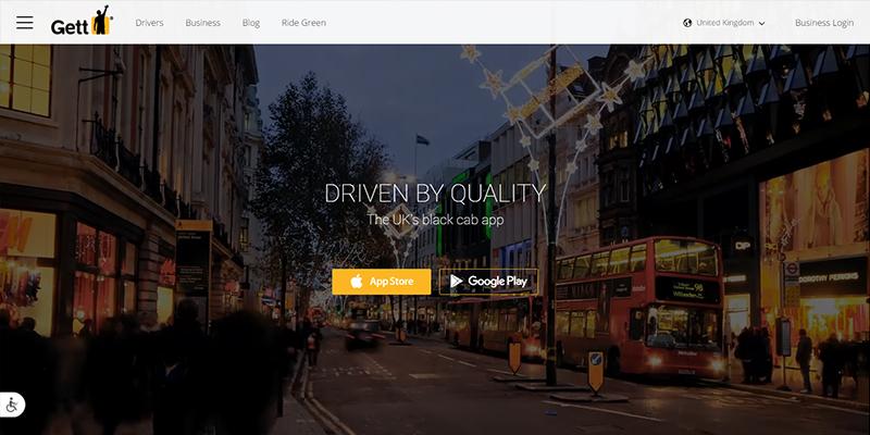 Gett Uber Alternative Taxi Apps