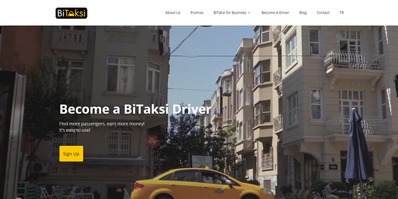 Bitaksi Taxi Hailing Services