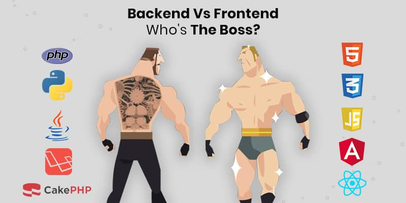 Backend vs Frontend Web Development