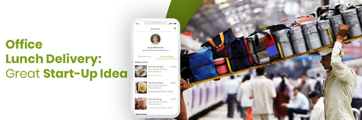 Online Office Food Delivery Business