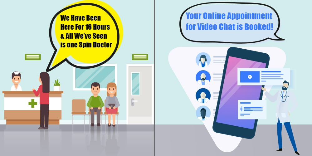 online telemedicine app for doctors