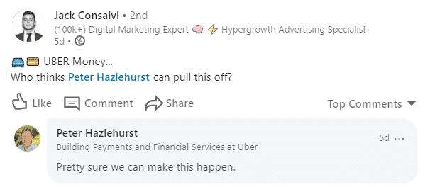 Uber's Fintech Strategy Conversation With Peter Hazlehurst