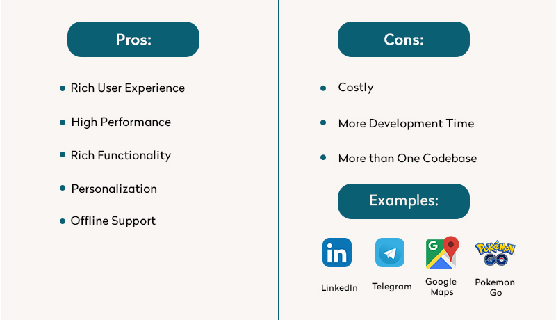 Native Apps: Pros, Cons & Examples