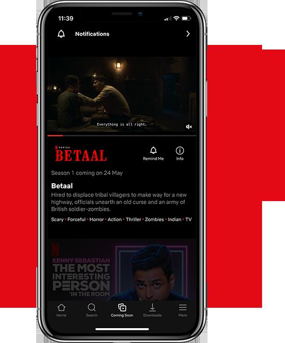 Netflix App Work
