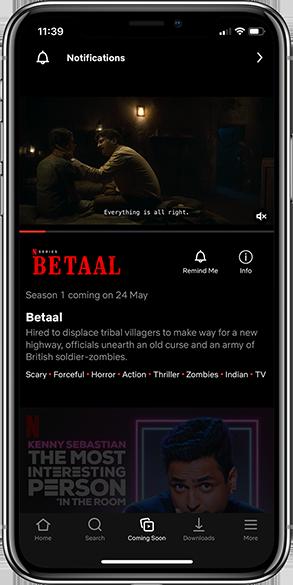 Netflix App Notification