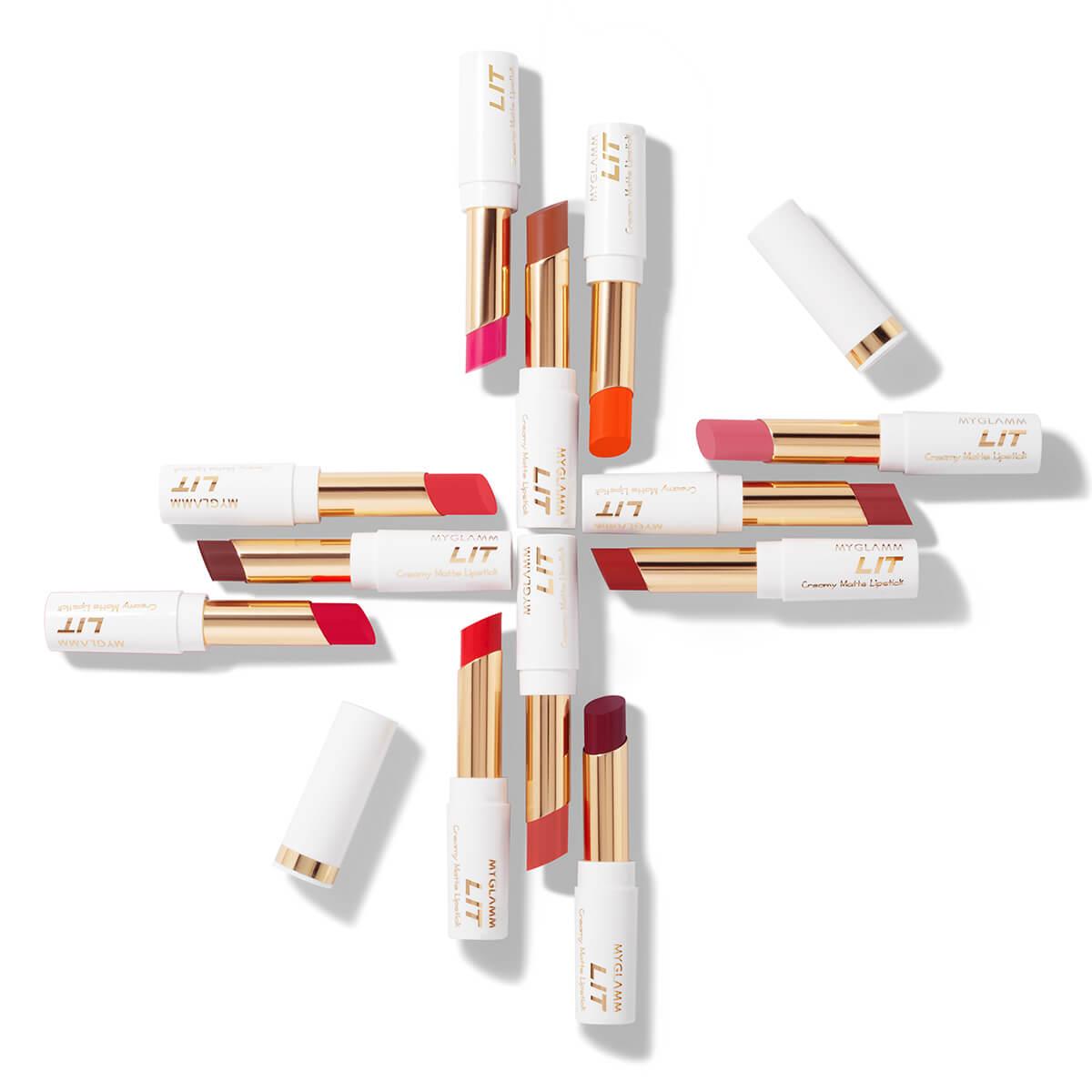 LIT Creamy Matte Lipstick