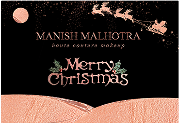 Manish Malhotra Christmas Gift Card