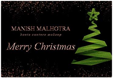 Manish Malhotra Christmas Gift Card 2