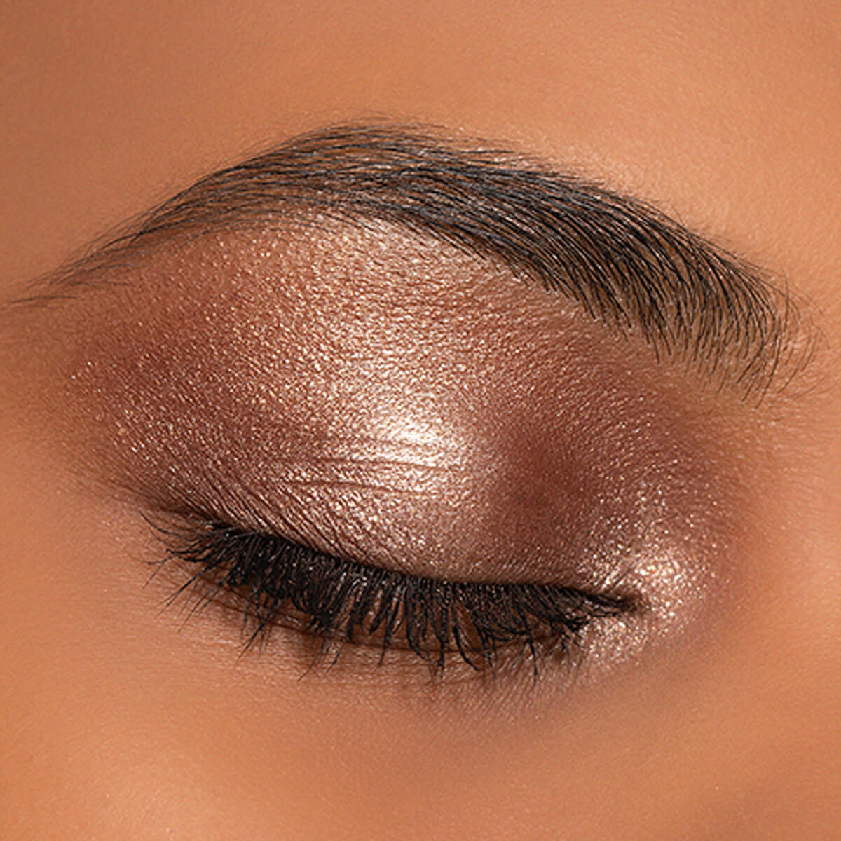 Copper eyeshadow Look,Copper Eye Makeup Look