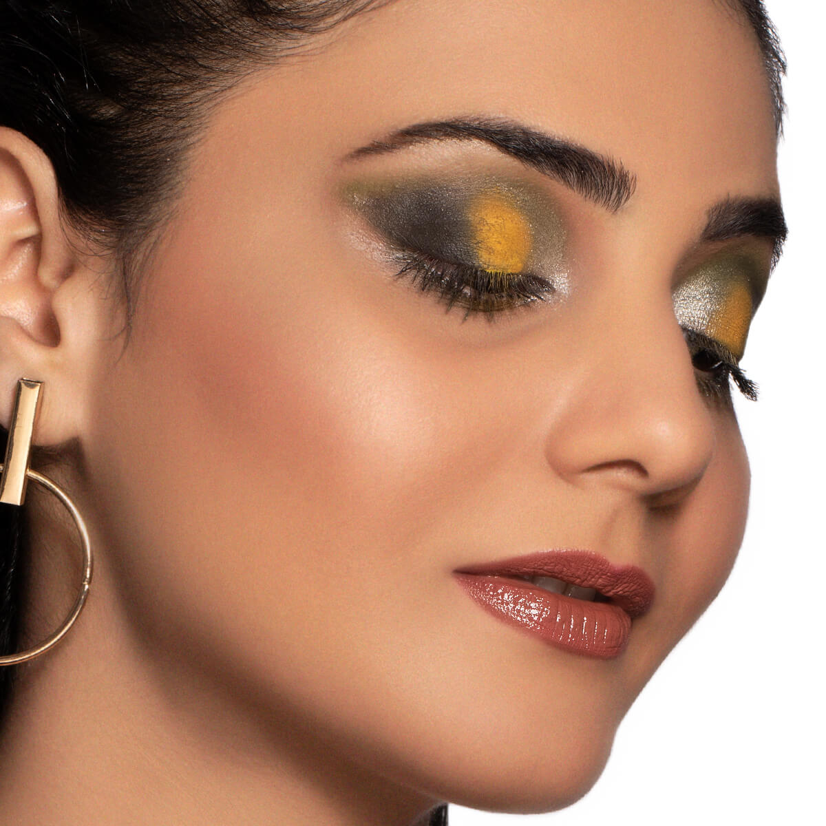 WORLD CUP CRAZE: AUSTRALIA Eye Makeup Look