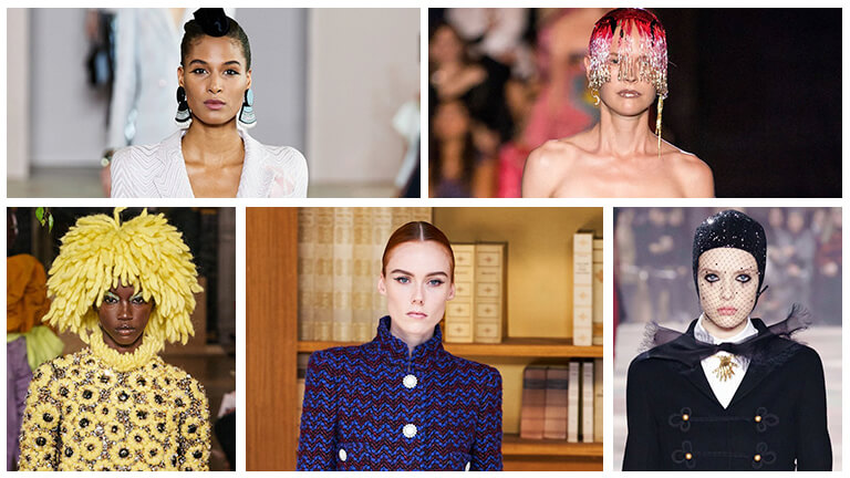 Makeup look from Paris Haute Couture Week 2019