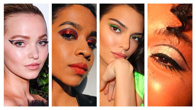 Graphic Eye Makeup Looks