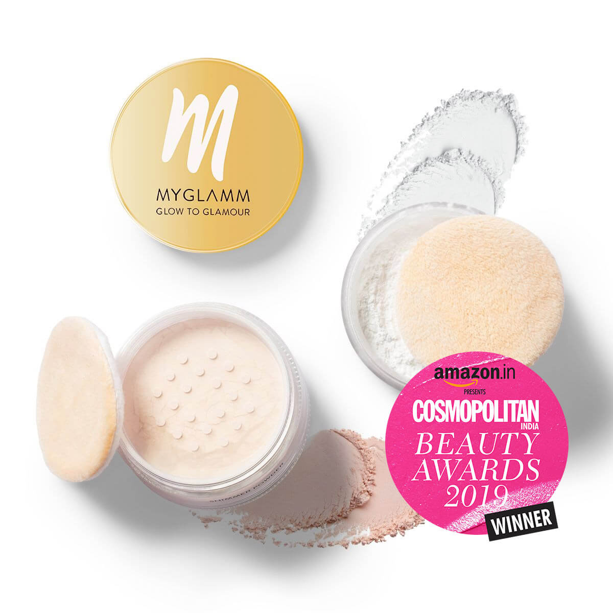 Shimmer Face Powder - Glow to Glamour