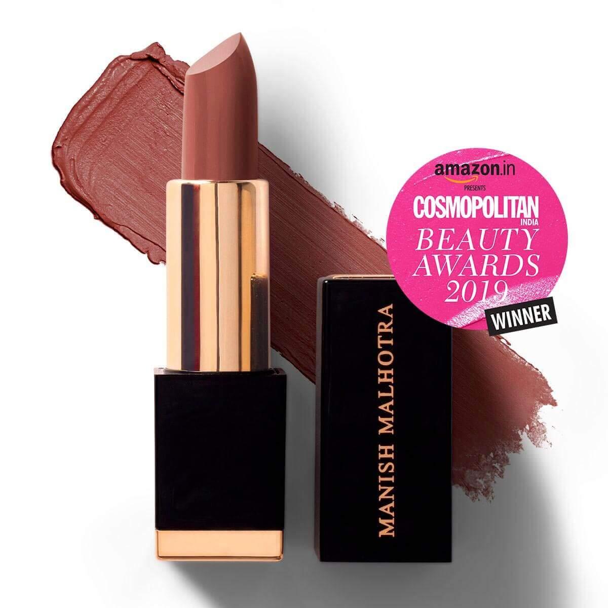 Mauve Struck - Manish Malhotra Hi-Shine Lipstick