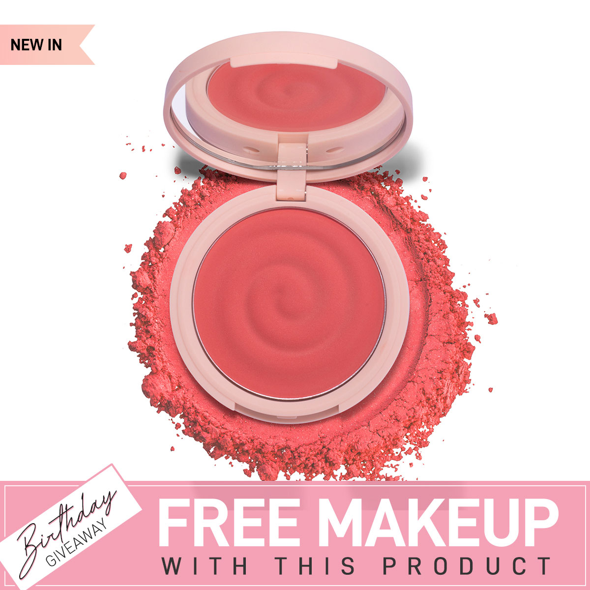 K.Play Flavoured Blush - Frozen Raspberry