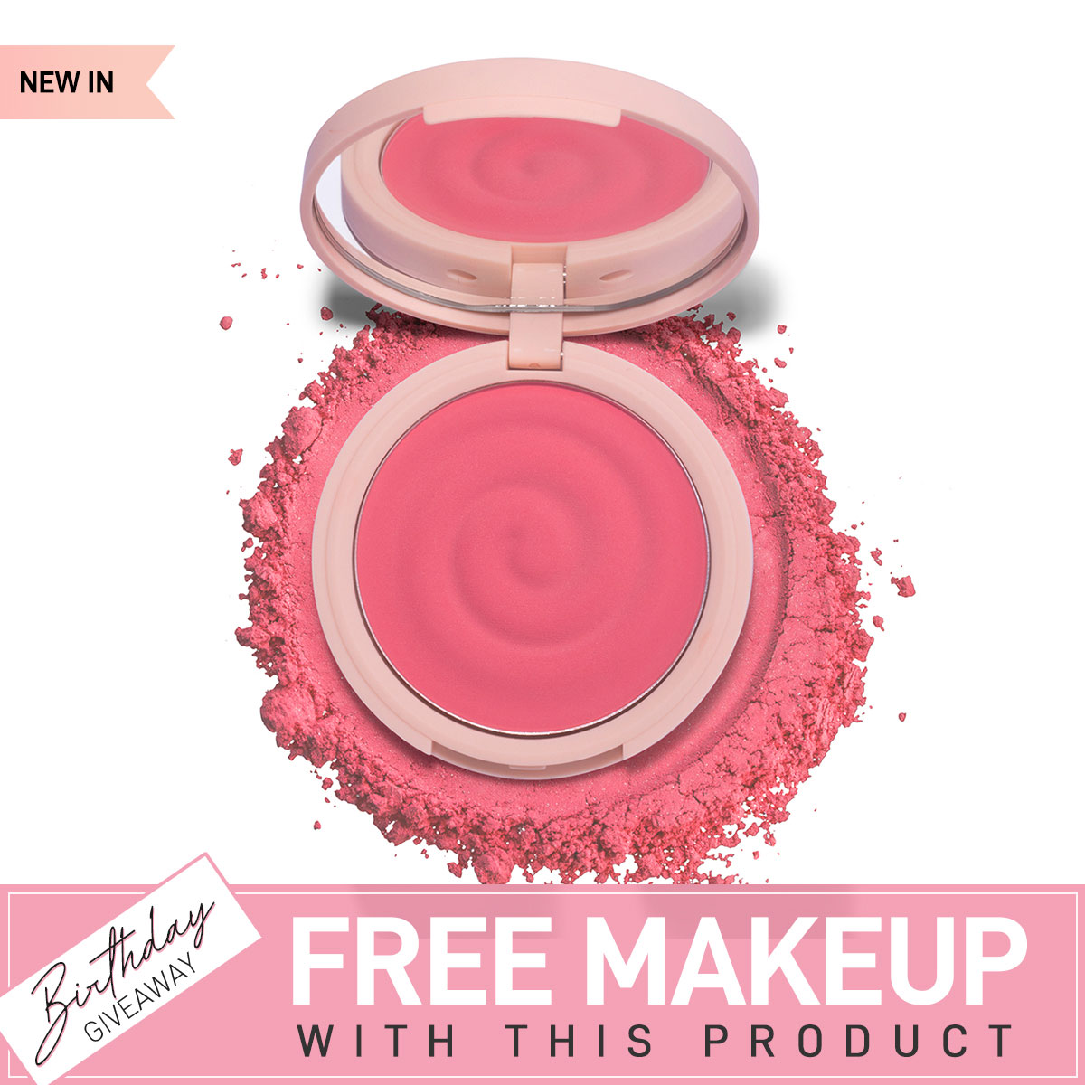 K.Play Flavoured Blush - Juicy Strawberry