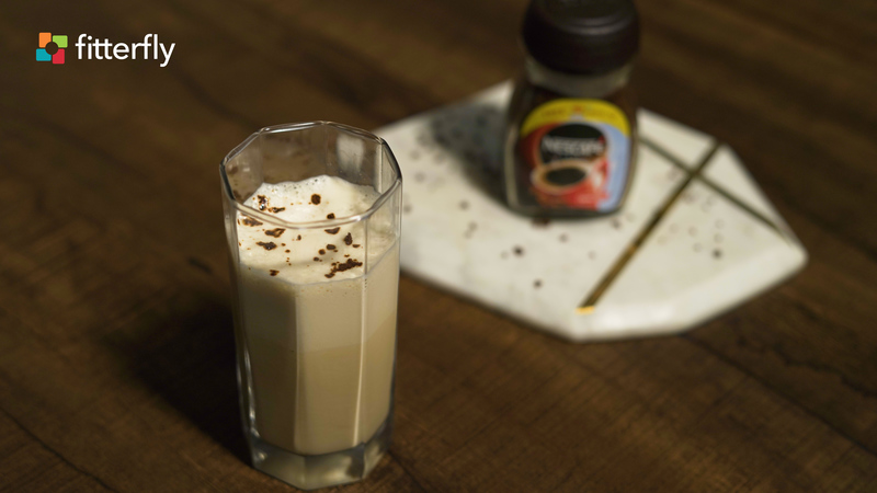 Cold Coffee With Honey