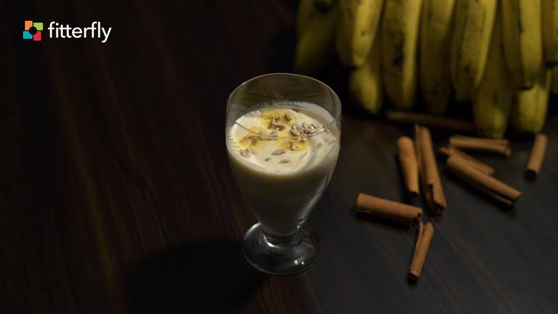 Banana Smoothie With Honey