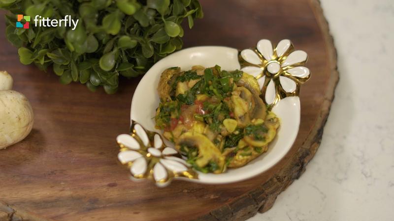 Fenugreek Leaves Mushroom Dry Vegetable