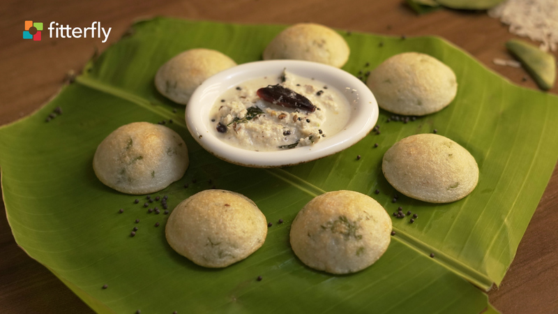 Appe With Coconut Chutney