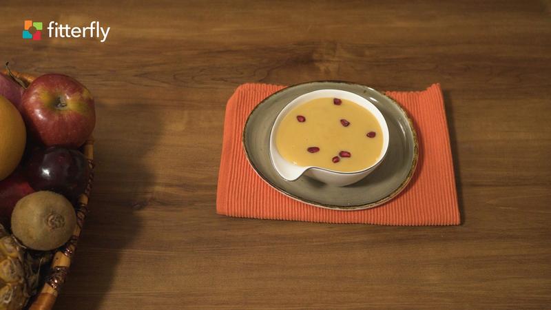 Mashed Fruit Soy Milk Custard