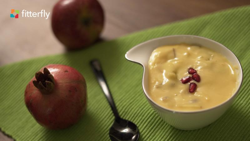 Fruit Custard (Lactose Free Milk)