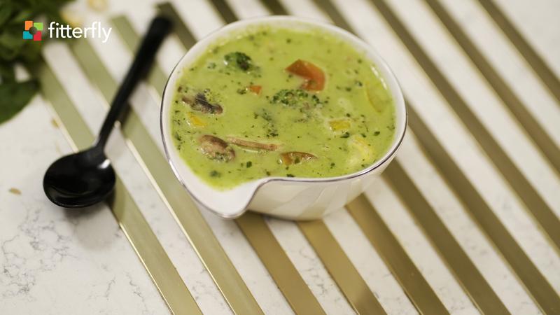 Green Veg Thai Curry