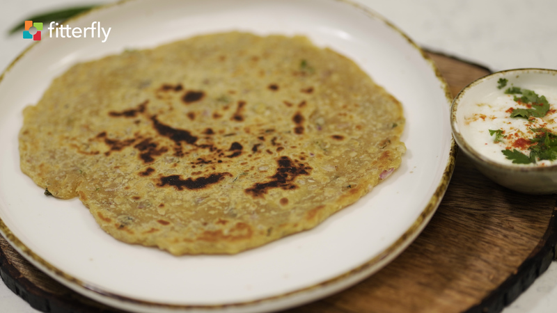 Missi Roti With Oil