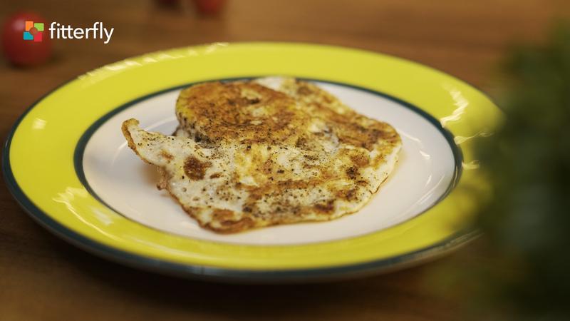 Fried Egg Omelette