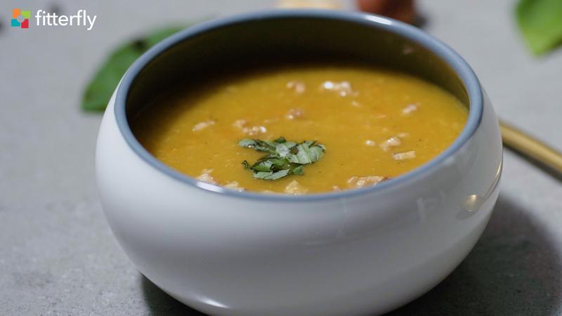 Carrot Pumpkin Thick Soup