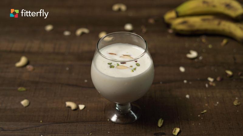 Lactose Free Banana Milkshake
