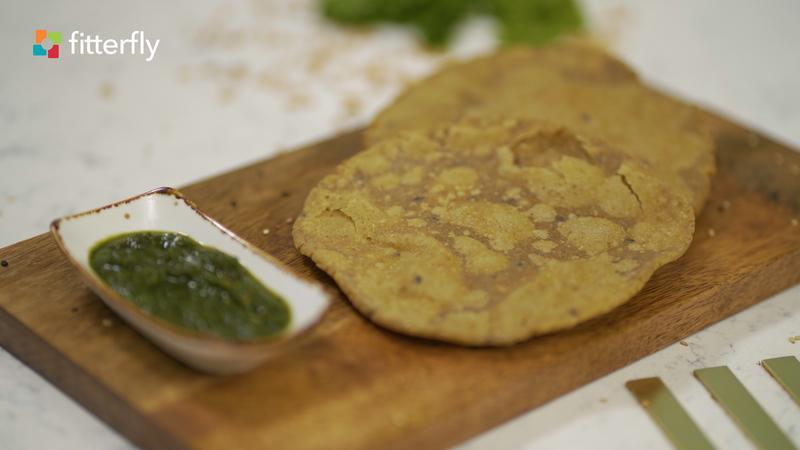 Mixed Flour Poori