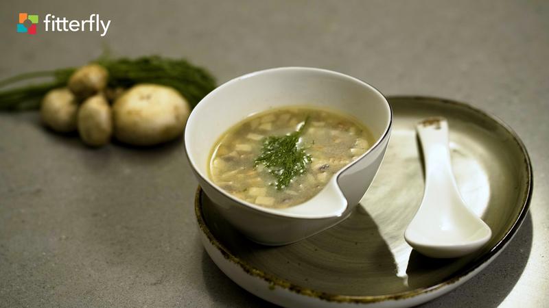 Mushroom Clear Soup