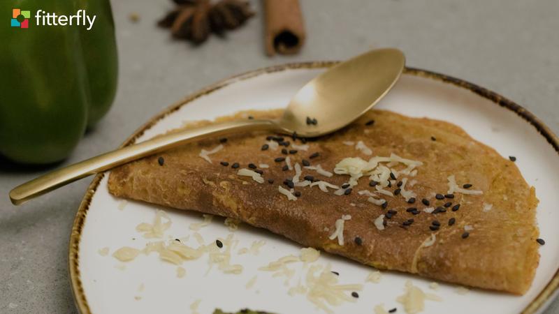 Gram Flour Cheese Cheela