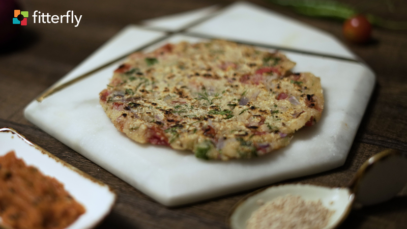Jowar Vegetable Cheela