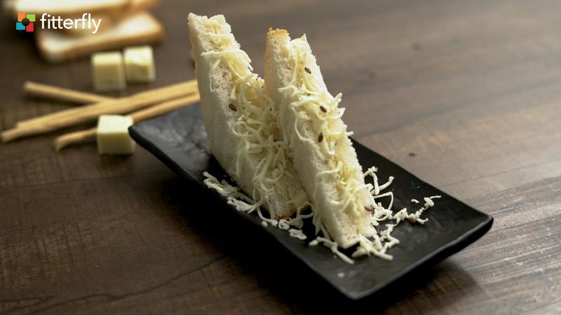 White Bread Cheese Sandwich
