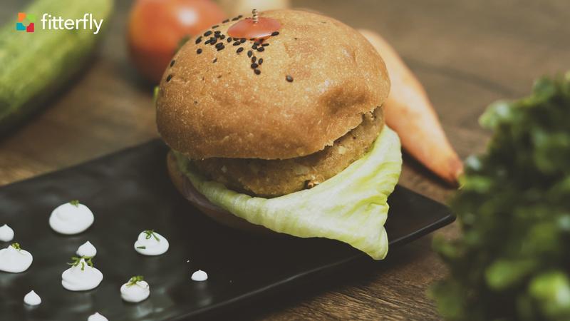 Quinoa Cabbage Burger