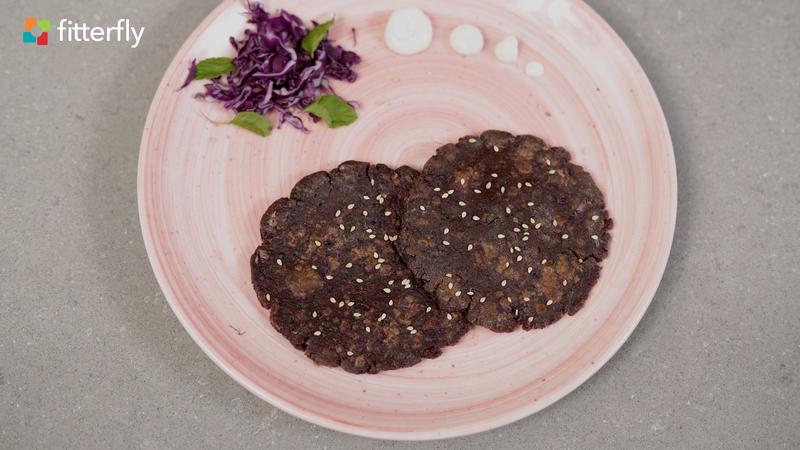 Millet Purple Cabbage Paratha