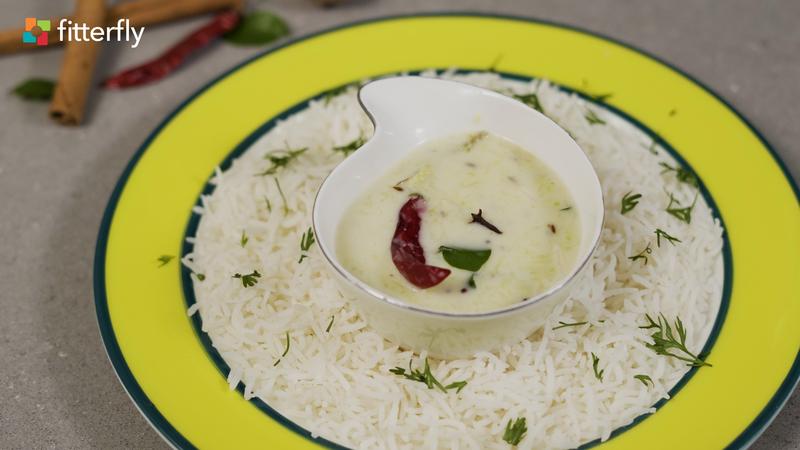 Coconut Zucchini Kadhi