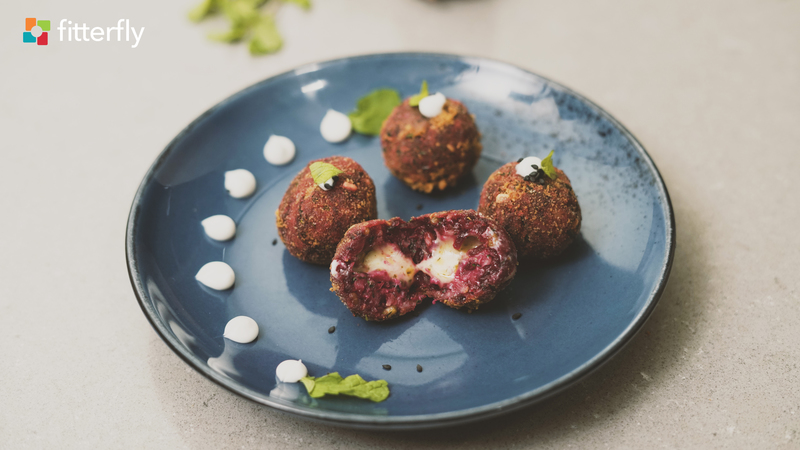 Beet Sprout Poppers