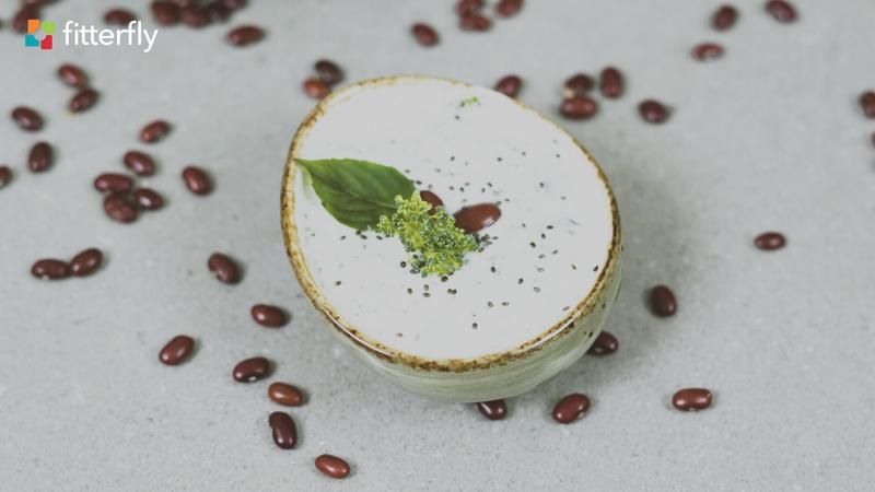Broccoli Basil Bean Raita