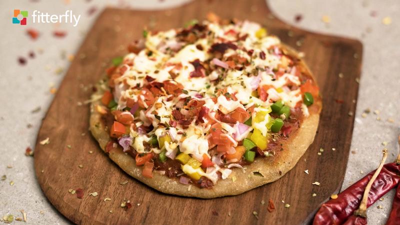 Italian Kulcha Pizza