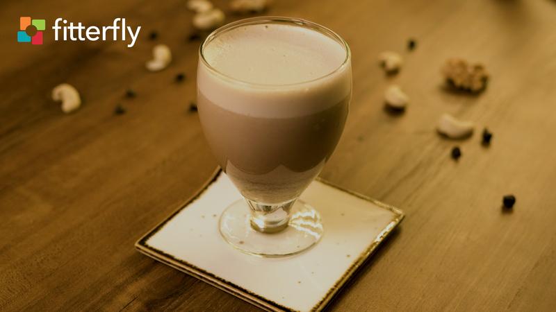 Choco Nutty Shake With Jaggery