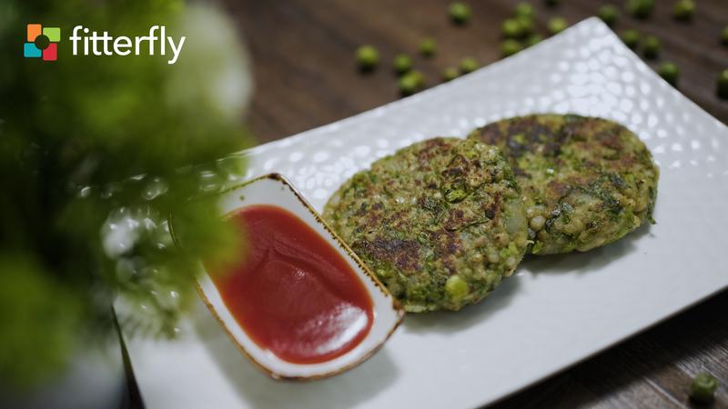 Jowar Fresh Peas Pattice